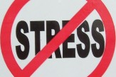 No stress logo