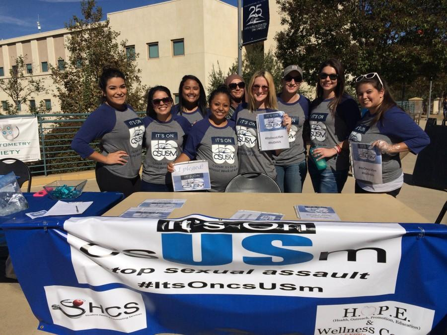 Students pledge to prevent sexual assault