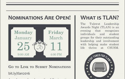 TLAN Nominations are open for all students