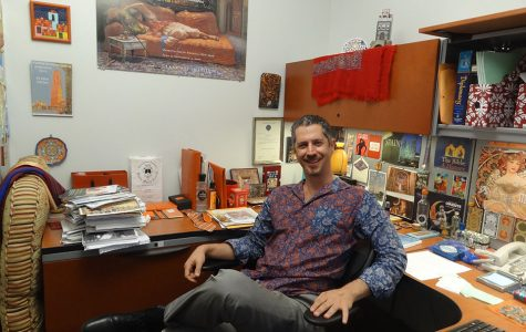 History professor shares his journey, hopes students strive for excellence in their careers