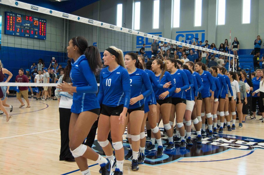 Women's volleyball opens season with victory