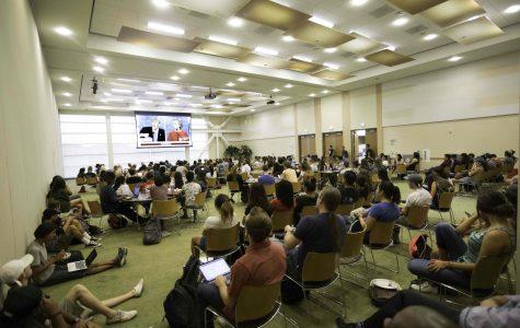 CSUSM students participate in presidential debate discussion