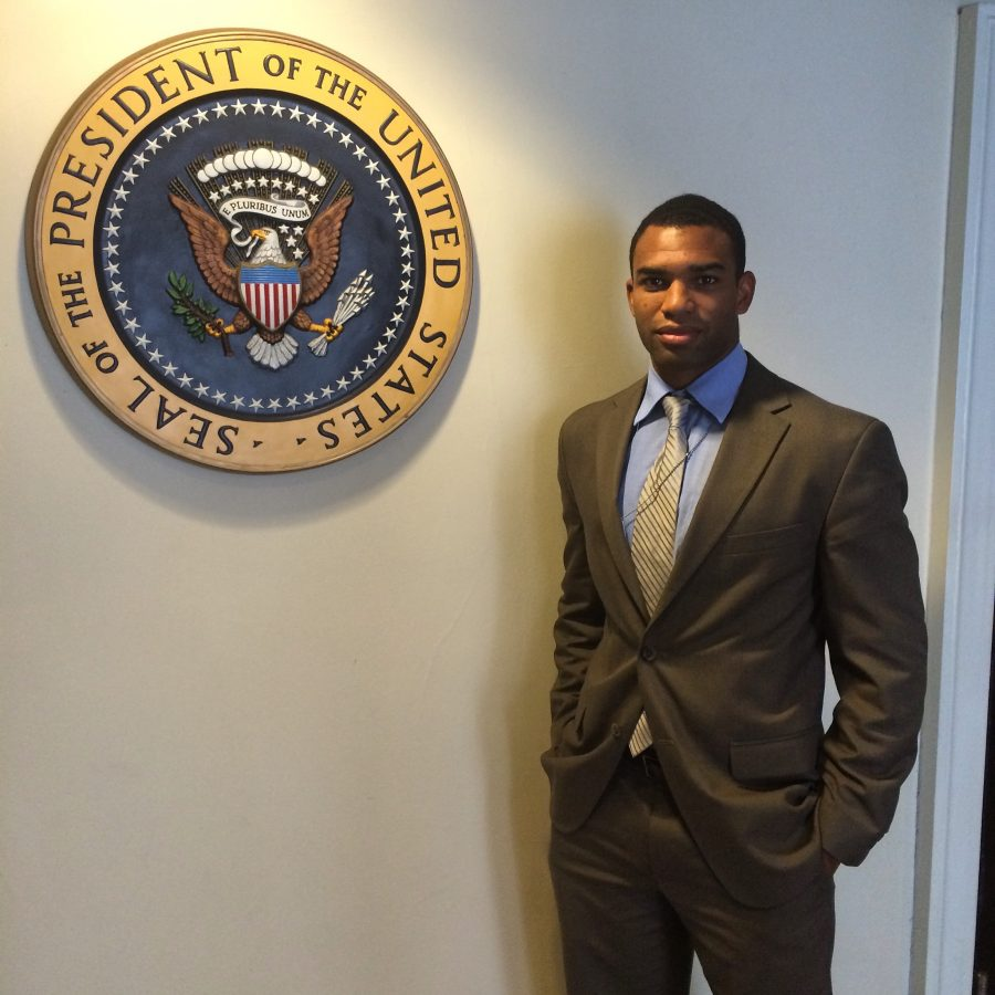 Active duty Marine commits to country and education