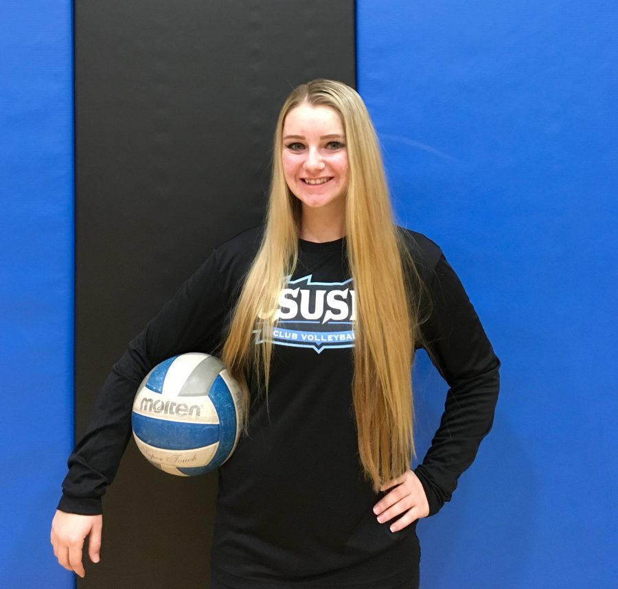 Anna Jensen ready to lead club volleyball to victory
