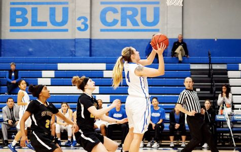 CSUSM Women's Basketball slam-dunks San Francisco