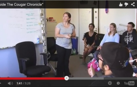 Cougar Chronicle launches new video channel
