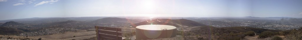panoramic photo of Double Peak Park