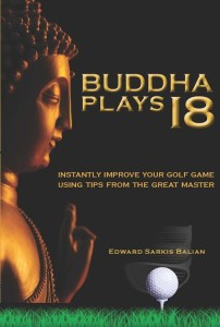 Dr. Ed Balian's book on the mental side of golf. Photo provided by Dr. Balian.