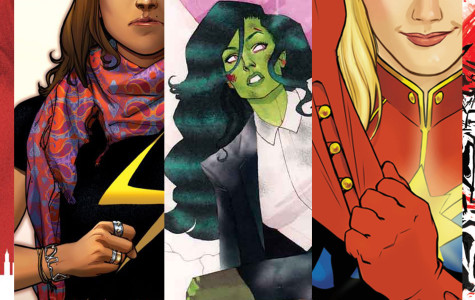 The Comic Book Corner: Marvel ladies taking the lead