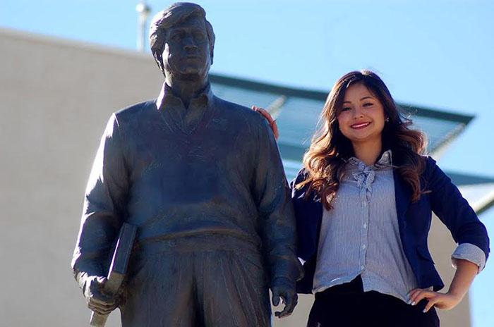 President's Champion Award recipient, Thiana Ruiz.