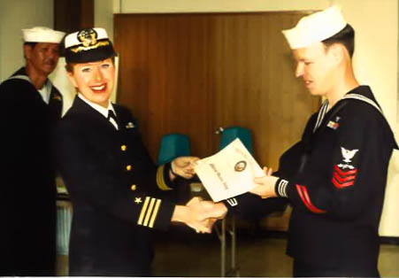 Naval Commander retires, helps inspires veterans to look forward to life after the military