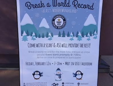 """ASI to host """"Break a World Record"""" event"""