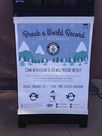 "ASI to host ""Break a World Record"" event"