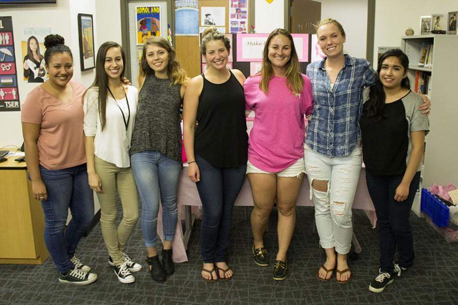 Students spread breast cancer awareness through skill-based presentation