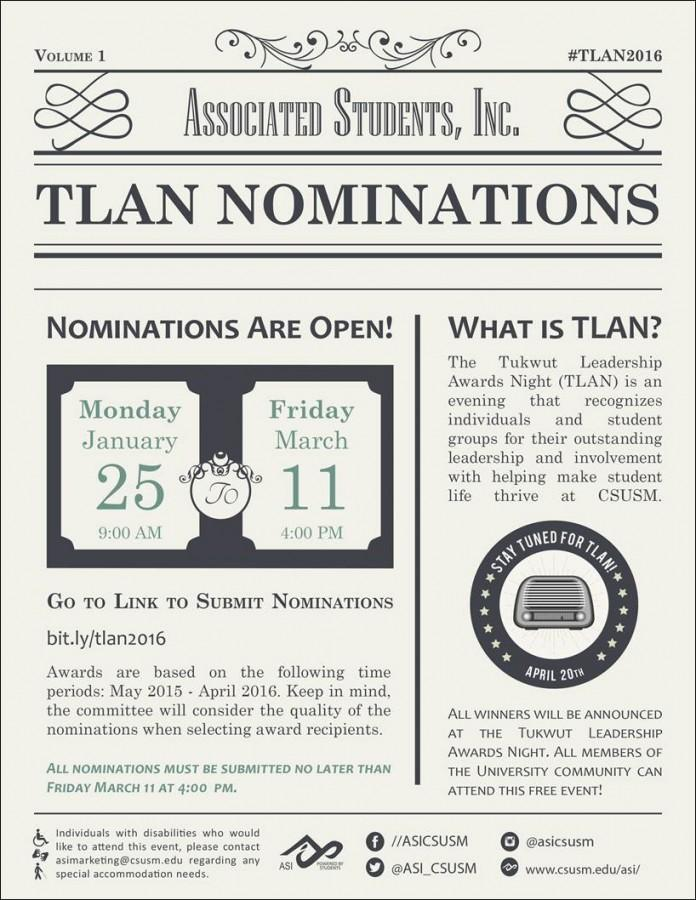 TLAN+Nominations+are+open+for+all+students