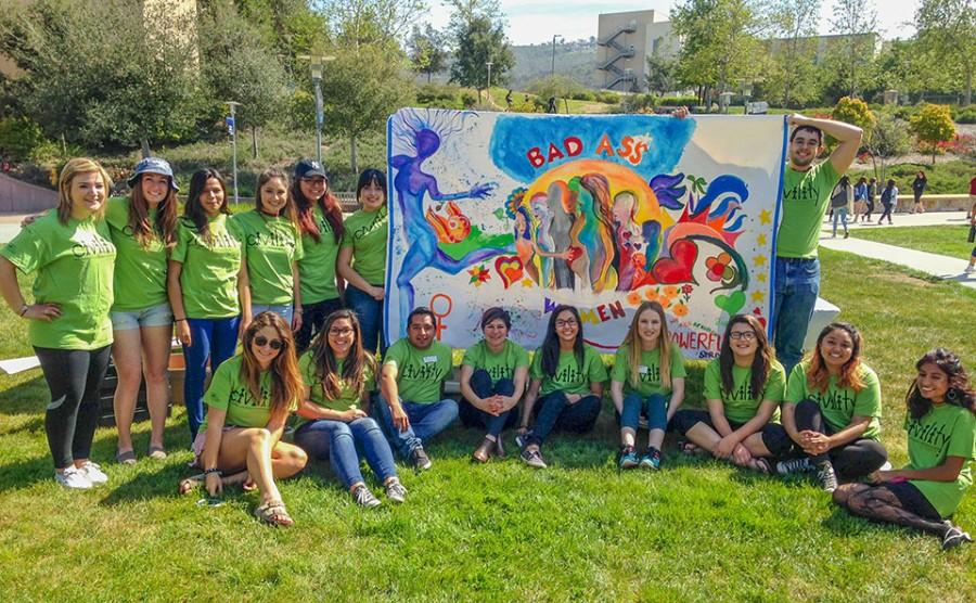 Civility Campaign showcases Mural Project by Marilyn Huerta and Joanne Tawfills.