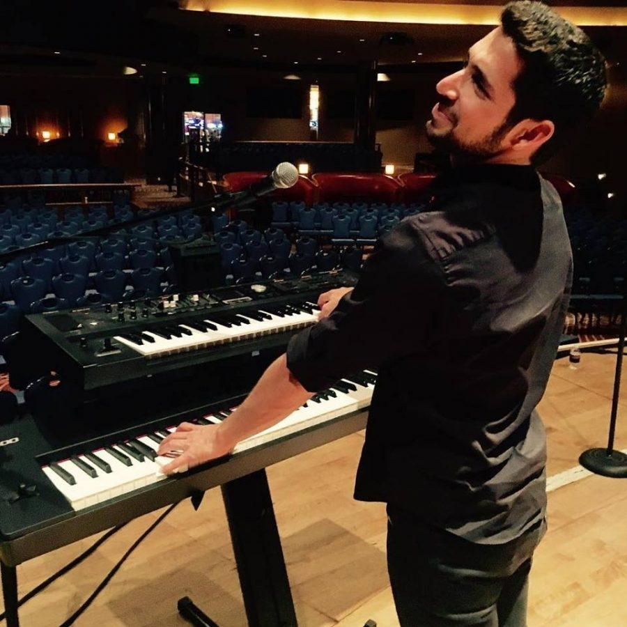 CSUSM senior and musician David Yuter finds solace in music.