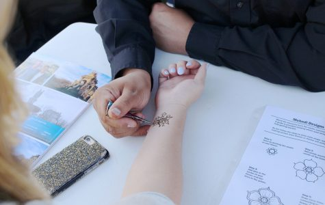 Event teaches students art of Henna