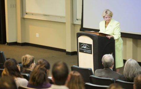 President Haynes discusses budget, campus issues