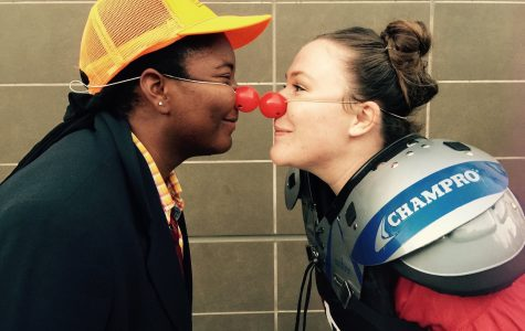 Juste: Red Nose Clown brings delight to campus
