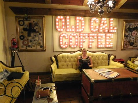 Get cozy at the Old California Coffee House