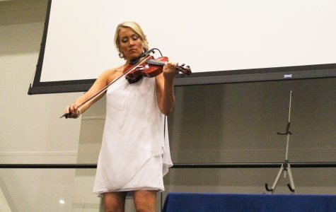 CSUSM presents Ask the Right Question with violinist Amanda Wirtz