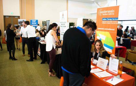 Students seek employment opportunities at Job Fair