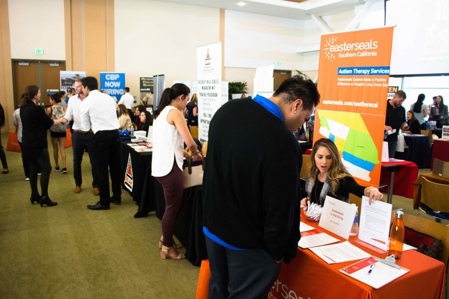 Students seek employment opportunities at Job Fair