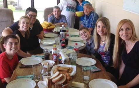 Creating memories with my Italian family