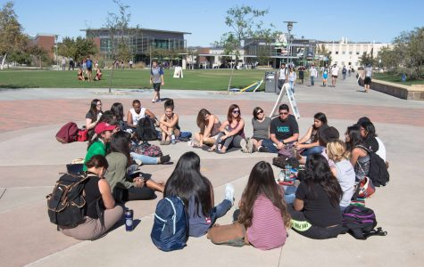 Students react to election with peaceful protest