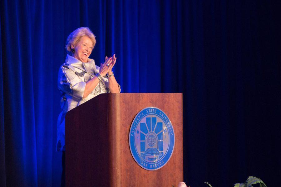 President+Haynes+presents+Report+to+the+Community+speech