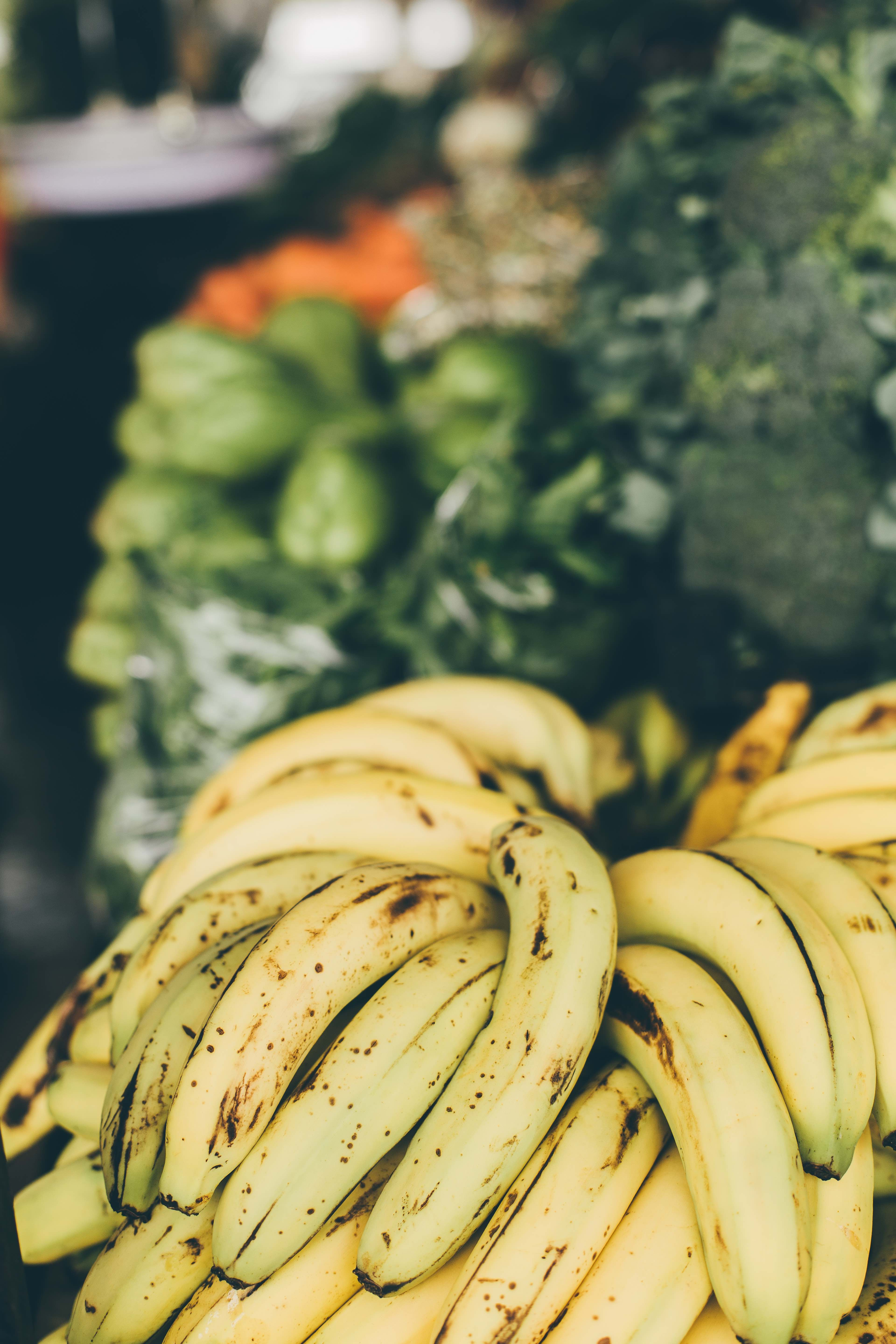 Plantains, a cousin to the banana, are a staple in the Panamanian diet.