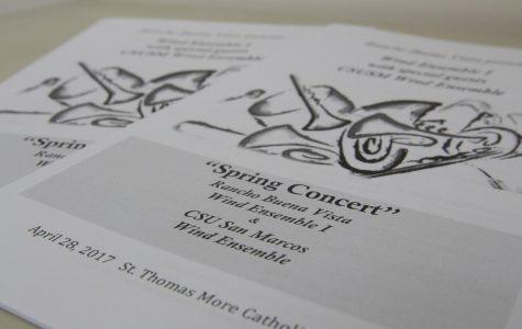 CSUSM Wind Ensemble performs alongside RBVHS