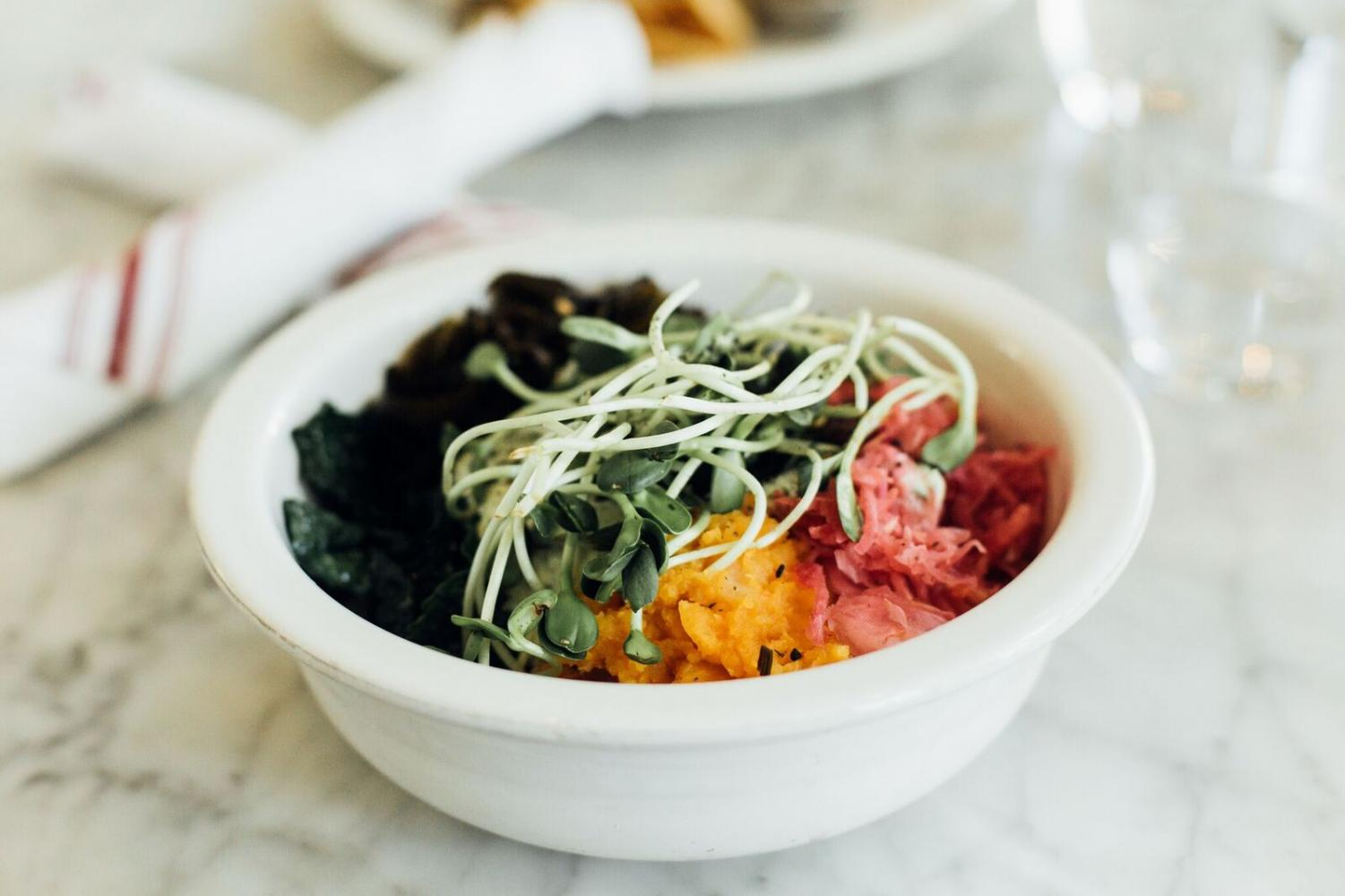 The Whole Bowl, a nutrient-filled entrée, is the perfect go-to for lunch or dinner.