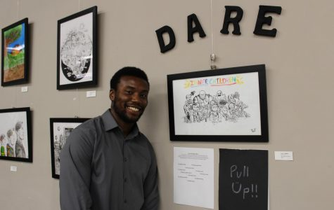 """Dare Talley debuts second art show """"Inner Child"""""""