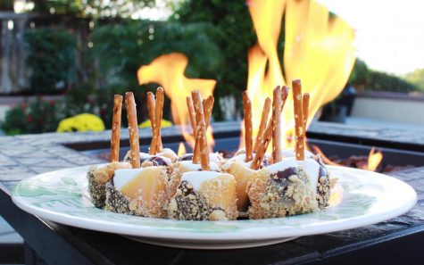 Create marshmallow s'more pops for your next get-together