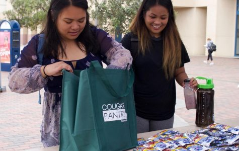 The Cougar Pantry gives students free food