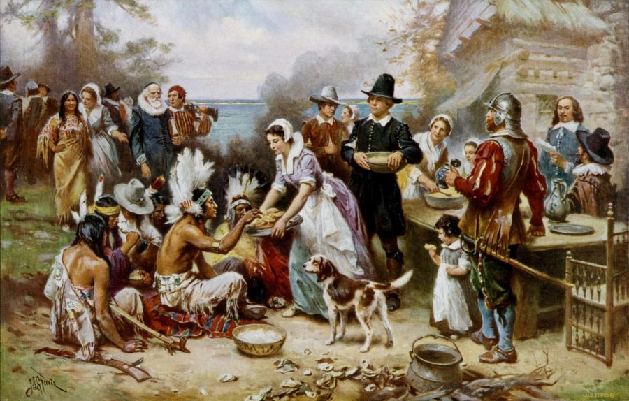 Common image of the selective truth for Thanksgiving celebration.