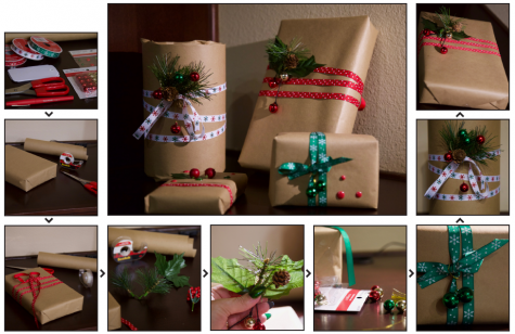 Wrap up the year with unique Christmas gift wrap tips