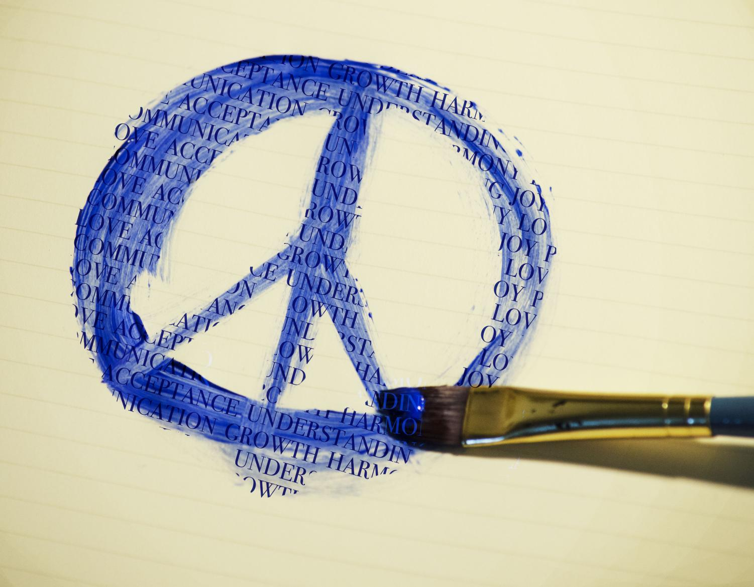 Words have the ability to create and promote a world of peace.