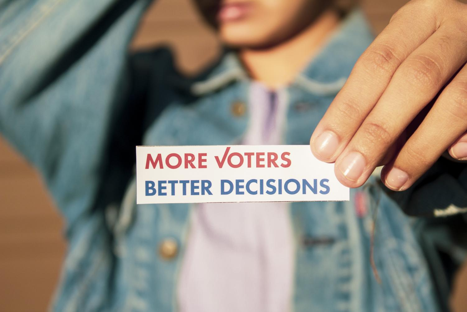 As the midterm election approaches, voting becomes more important.