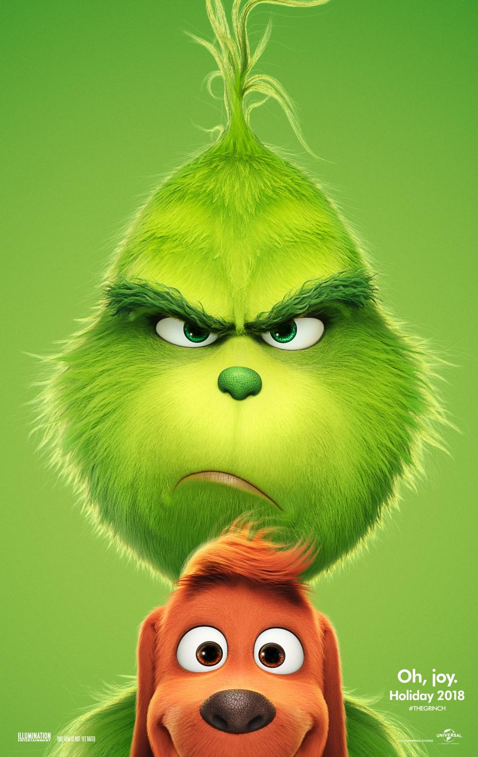 Benedict Cumberbatch voices the Grinch in Dr. Seuss' How the Grinch Stole Christmas.