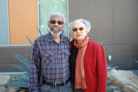 San Diegan sculptor, Manuelita Brown, visits CSUSM