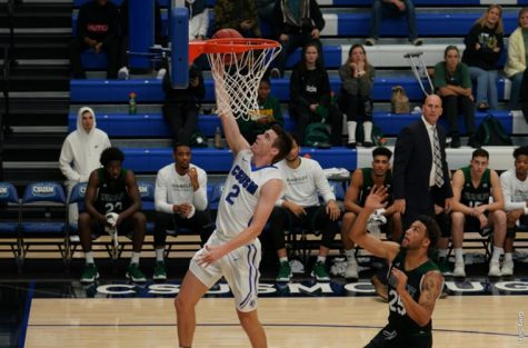 CSUSM Men's Basketball late rally attempt falls short
