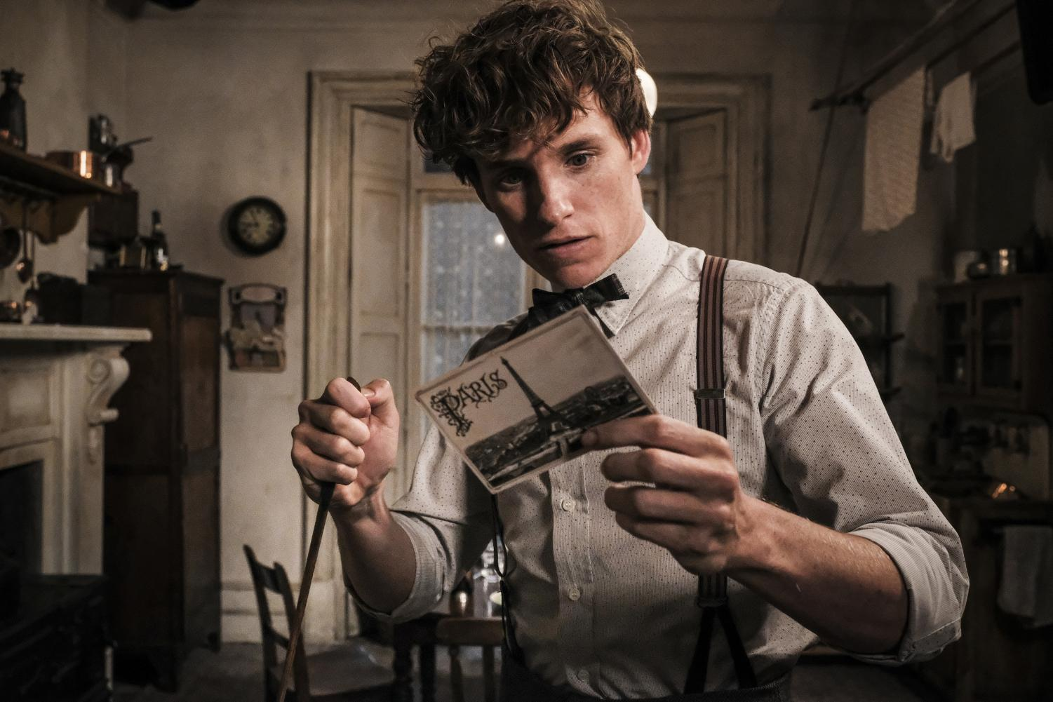 Eddie Redmayne stars in the second prequel to the Harry Potter  film series, Fan- tastic Beasts:  The Crimes  of Grindelwald