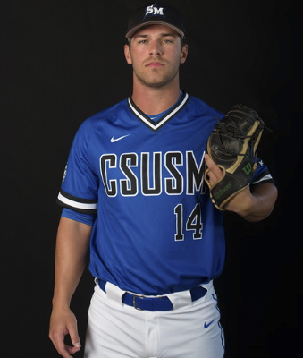 Griffin Teisher hits first inside the park grand slam in CSUSM history