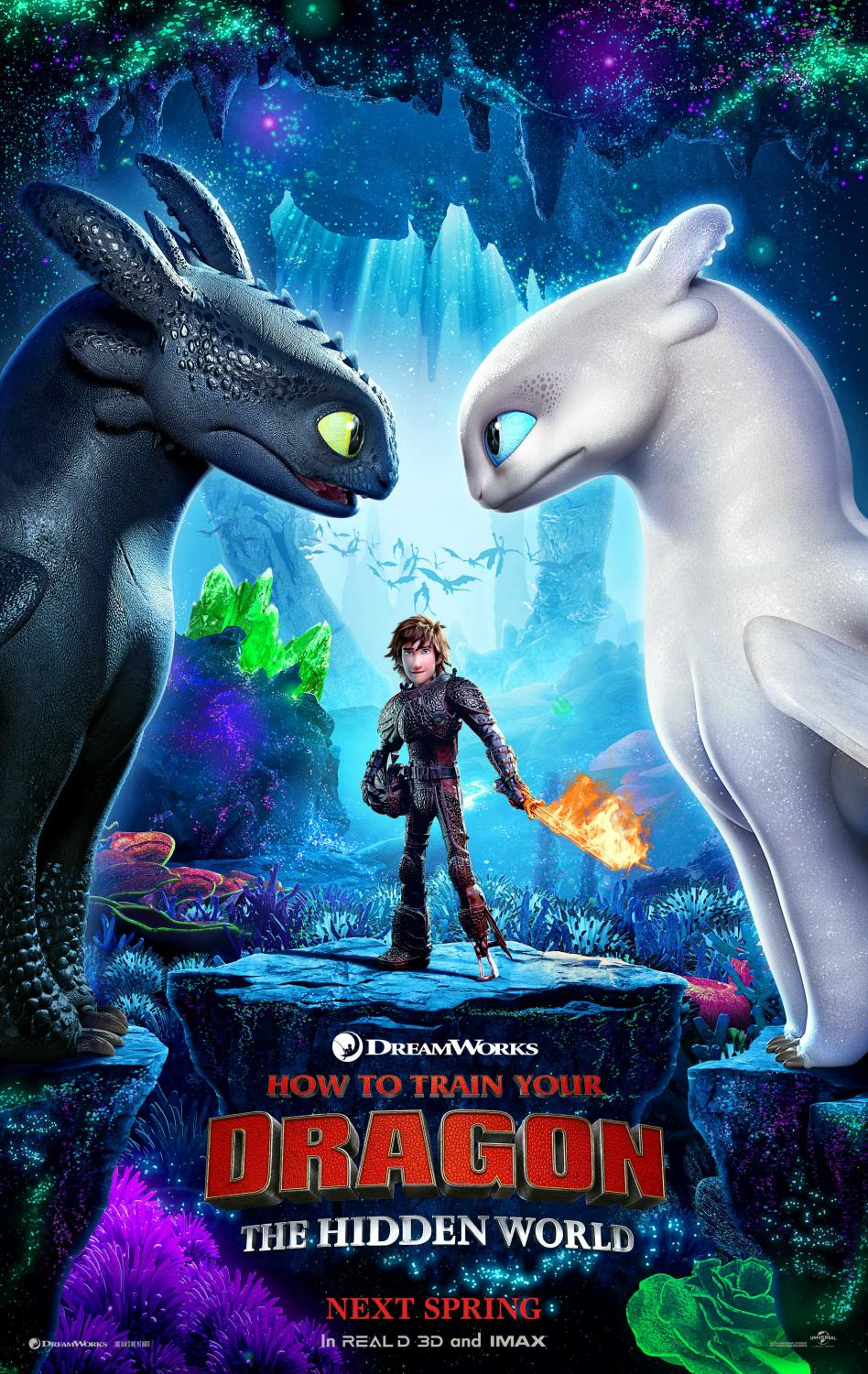 DreamWorks Animation presents the third film of the How To Train Your Dragon franchise.