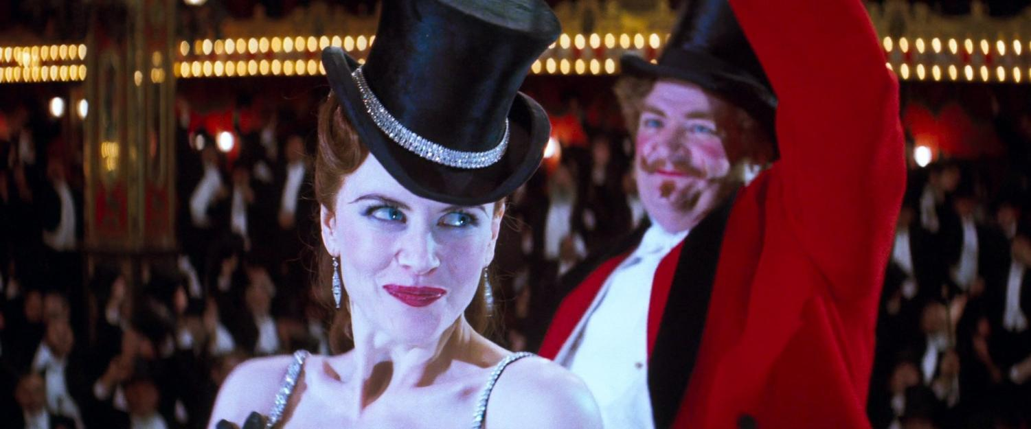 Nicole Kidman stars in the 2001 film, Moulin Rouge!.