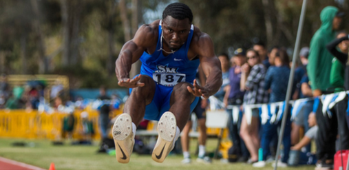 Antonio Riggins is one of the returning talents for men's track & field.