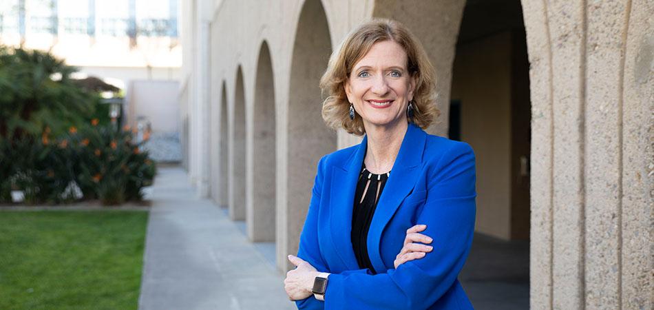 President Ellen Neufeldt replaced former president Karen Haynes in July.